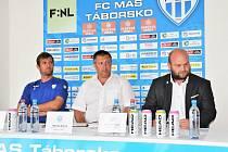Tisková beseda FC MAS Táborsko.