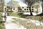 S pojetím Centra pro seniory v Táboře v architektonické soutěži nejlépe uspěly ateliéry Skutek architecture (CZ) a Raumleipzig architekten (DE).