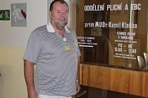MuDr. Kamil Kleňha, primář plicního oddělení táborské nemocnice.