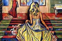 Výstava obrazů Ireny Procházkové.