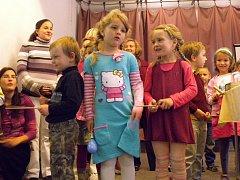 Církevní mateřská škola v Táboře oslavila dvacáté narozeniny.