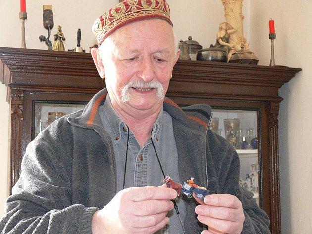 Zdeněk Flídr sbírá i hračky. Ale jen ty, se kterými si v dětství hrával.