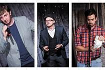 Stand-up comedy: Děláme to ve třech prvně v Táboře.