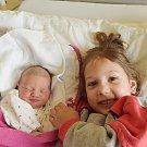 Karolína Bledá ze Sezimova Ústí. Narodila se 8. dubna v 0.19 hodin. Vážila 2540 gramů, měřila 46 cm  a  má sestřičku  Šarlotku (4).