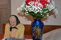 Paní Marie Matoušková oslavila 100 let.