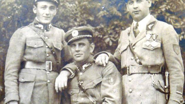 VÁCLAV TREŠL se po návratu z války v roce 1920 stal četníkem.