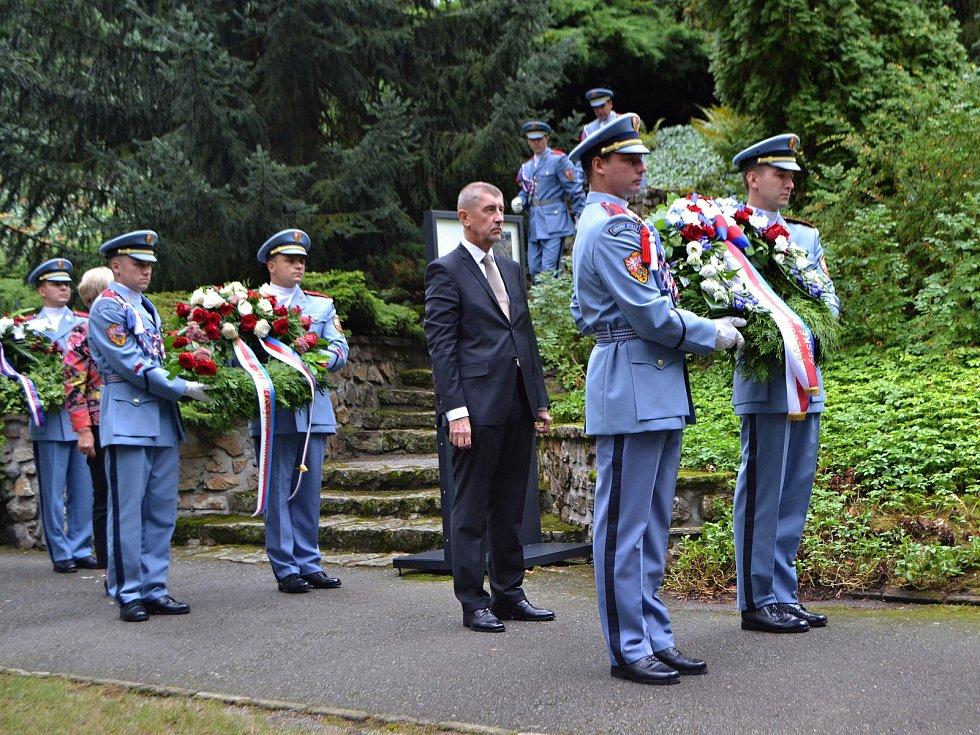 Výročí 70 let od úmrtí druhého československého prezidenta Edvarda Beneše připomenul pietní akt v Sezimově Ústí.