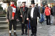 Jaroslav Šobra, Ondřej Mácha a Karel Novák jsou jedněmi ze zakladatelů pochodu.