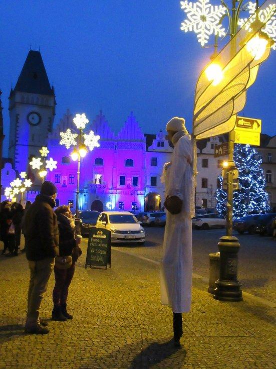 4. adventní neděle v historickém centru Tábora byla i navzdory koronavirovým opatřením plná kouzel a předvánoční atmosféry.