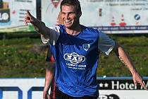Miloslav Strnad otevřel ve Vlašimi skóre zápasu.