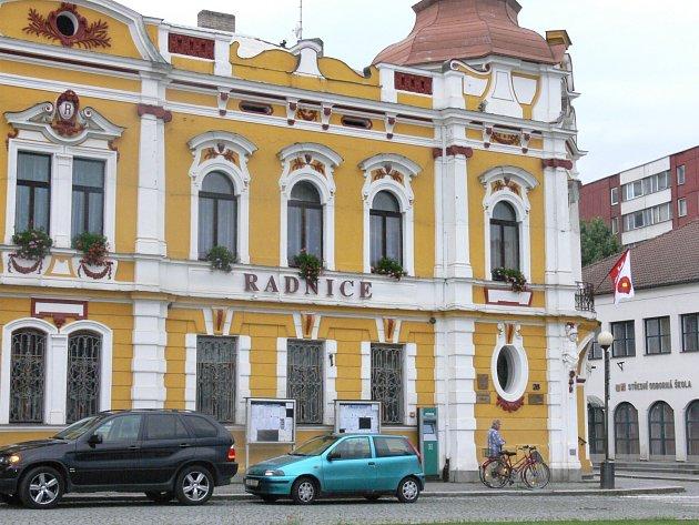 Radnice ve Veselí nad Lužnicí.Ilustrační foto