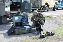 Minigator 2019 – to je název mezinárodního cvičení EOD týmů, které se v těchto dnech koná ve vojenské posádce 15. ženijního pluku v Bechyni.