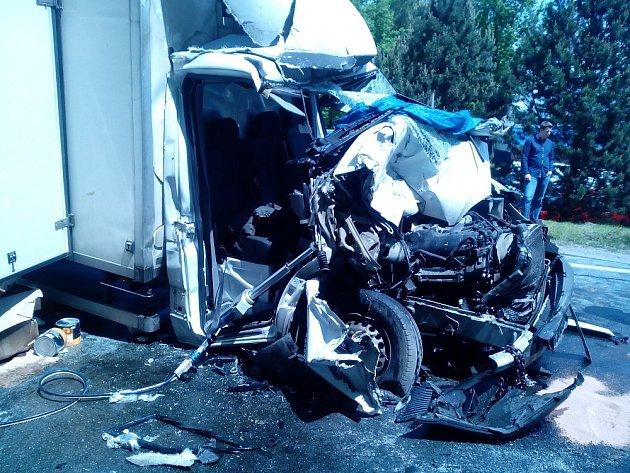 Dnešní nehoda uVeselí nad Lužnicí