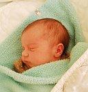 Jonáš Jágl z Roudné. Narodil se 25. května v 9.14 hodin. Vážil 3140 gramů, měřil 48 cm a už má doma sourozence Patrika (8), Terezu (7) a Nellu (4).