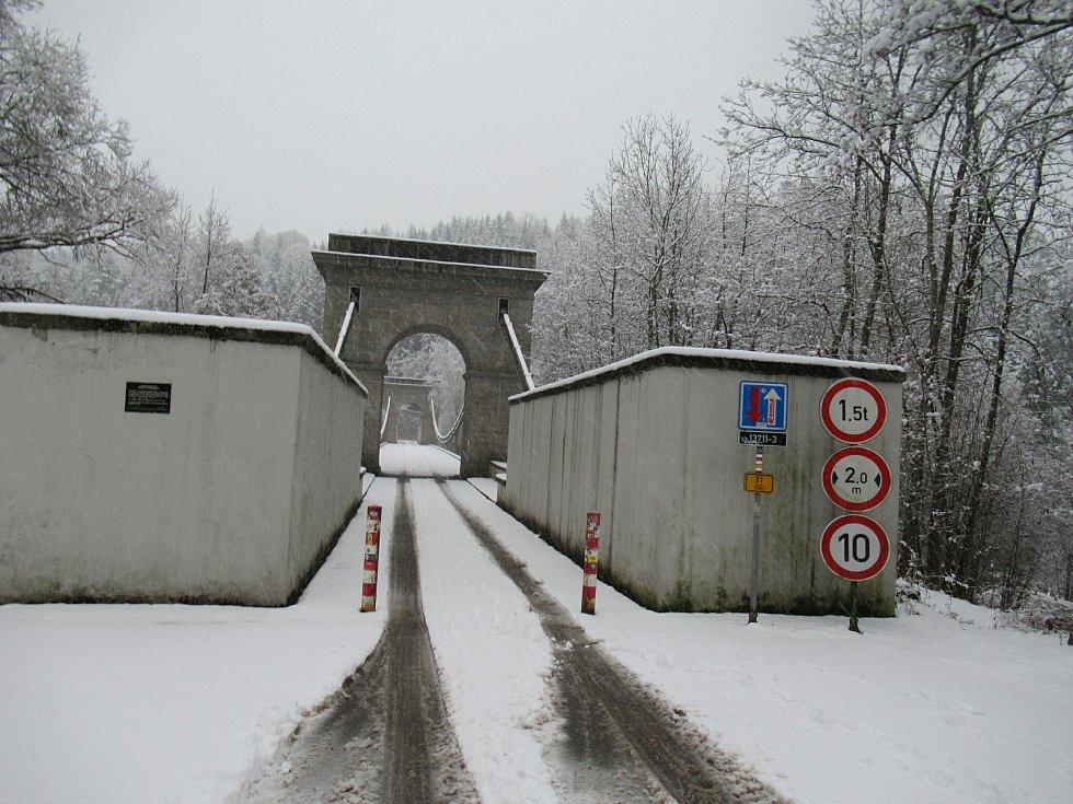 Stádlecký most se podle odborníků nacházel v havarijním stavu. Hlavní příčinou byla degradace dřeva mostních trámů invazivní a dřevokaznou houbou z čeledi trámovek.