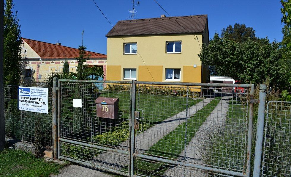 Dům, v němž agresoři útočili.