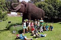 Žáci si užívali nabitý program školy v přírodě.