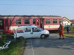TÁBORSKÝ přejezd na Horkách řidiči podceňují.