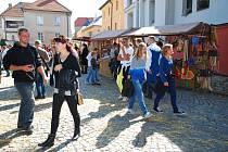 Středověký řemeslný trh na Tržním náměstí