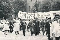 Baráčníci z Veselí nad Lužnicí.