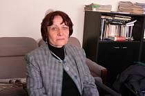 HELENA PACALAJOVÁ z Tábora oceňuje pomoc hospicu Jordán.