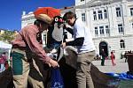 V Táboře se ve čtvrtek na náměstí TGM konal ekologický den.