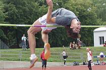 Sobotní účinkování předních českých, ale i zahraničních atletů u Jordánu se podepsalo pod patnáct nových rekordů stadionu Míru. O jeden z nich se postaral také výškař pražského PSK Olymp Michal Šaman, který tímto pokusem překonal laťku ve výšce 212 cm.