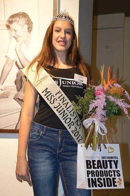 Vítězkou soutěže Miss Junior jižní Čechy se stala patnáctiletá Linda Rambousková zTábora.
