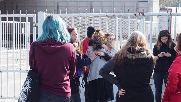 Plánská jatka tři dny střežili aktivisté