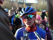 Světový pohár v cyklokrosu v Táboře - Kateřina Nash