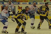 Táborští hokejisté bojují o postup do čtvrtfinále s mužstvem Kadaně