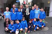 Mladší žáci FCT hráli fotbal v Kostnici.