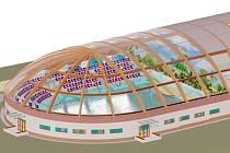 Budova environmentálního centra má rozměry 76 na 32,5 metrů. Součástí je i hlediště pro 487 sedících návštěvníků. Střecha by se za slunečných dnů dala odstranit, diváci by ale před případným deštěm zůstali stále skryti.
