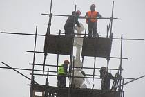 Kostel Povýšení sv. Kříže ve Veselí nad Lužnicí se opravoval dva roky, rekonstrukce se nachýlila konci.