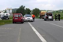 Tragická dopravní nehoda u Chotovin