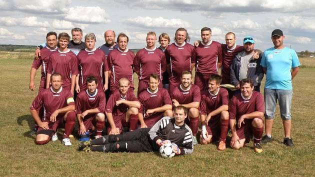 Tým FC Chališ Mažice v podzimní části IV. třídy.