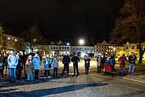 V neděli 17. listopadu oslavili Soběslavští 30 let svobody hned třemi akcemi.