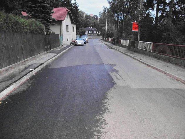 Dopravní nehoda se stala v Lužnické ulici 18.8.2010.