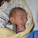Jan Rostás z Ústrašic. Na svět poprvé pohlédl 4. prosince ve 12.43 hodin. Vážil 3170 gramů, měřil 50 cm a doma má čtyřletou sestřičku Aličku.
