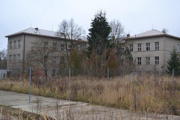 Bývalá kasárna Jana Žižky vTáboře.