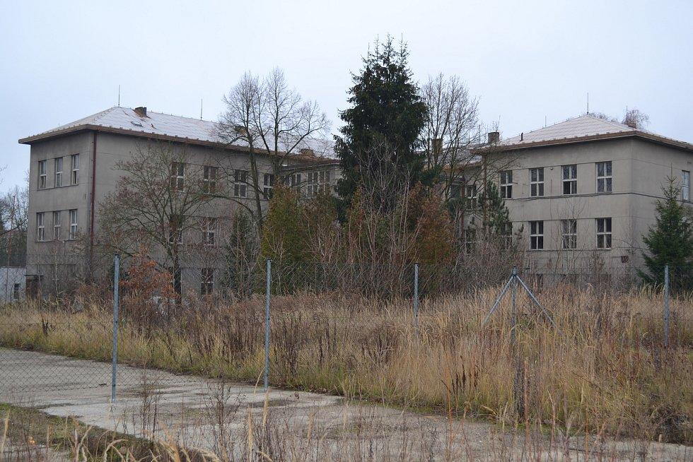 Bývalá kasárna Jana Žižky v Táboře.