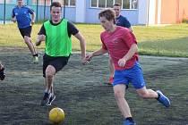 Snímek z letní přípravy hokejistů Tábora.