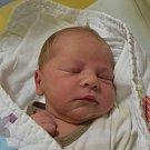 Ondřej Balík z Tábora. Na svět poprvé pohlédl 22. října v 9.21 hodin. Vážil 3950 gramů, měřil 51 cm a je třetím dítětem v rodině. Už má brášku Matyáše (7,5) a sestřičku Elišku (5).