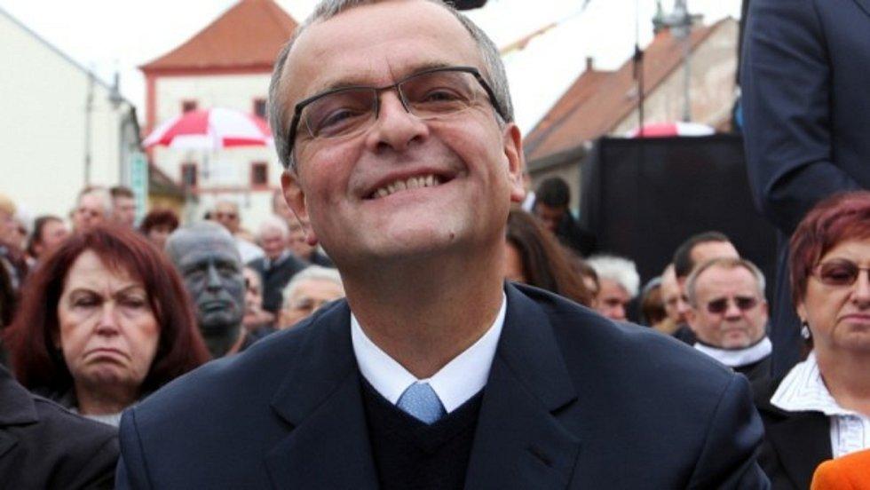 Miroslav Kalousek na jihu Čech.