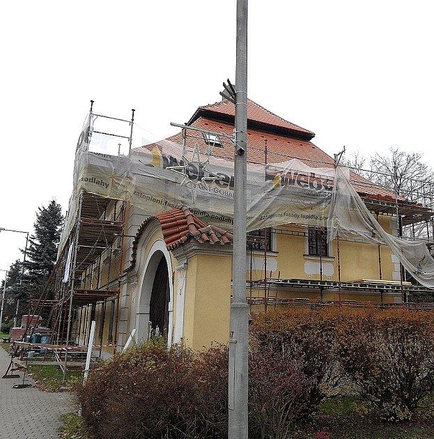 Rekonstrukce fary v Plané nad Lužnicí.