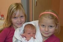Kateřina Chocová ze Soběslavi. Narodila se 6. listopadu ve 22.05 hodin. Vážila 3420 gramů, měřila 50 cm a doma má šestileté sestřičky – dvojčátka Barušku a Aničku.