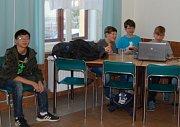 Základní škola Františka Křižíka hostila projektové setkání Erasmus+ spojené s výměnným pobytem žáků.