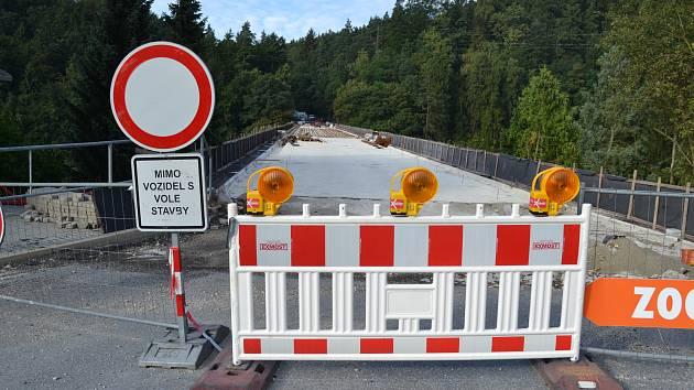 Oprava Švehlova mostu.