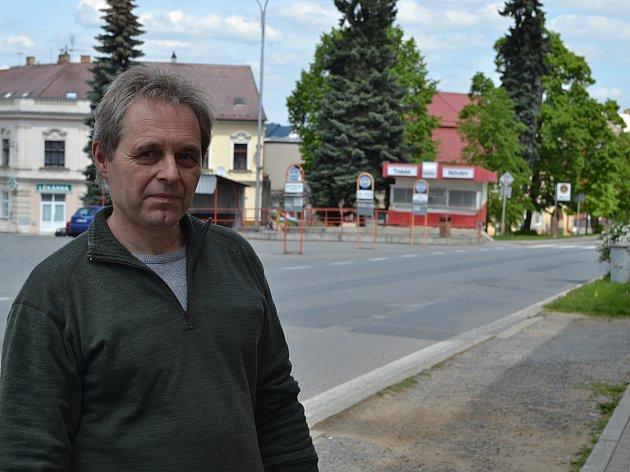 Václav Novotný z Mladé Vožice.