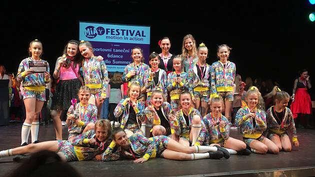 Členové z klubu 6dance si vytančili postup do finále v Lucerně.